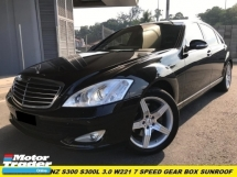 2008 MERCEDES-BENZ S-CLASS S300 L 3.0 (A) W221 FACELIFT 7 SPEED MEMORY SEAT LOW MILES SUNROOF