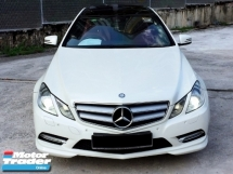 2012 MERCEDES-BENZ E-CLASS E250 CGI SE COUPE AMG EDITION  HARMAN KARDON SOUND PANAROMIC ROOF TAHUN DIBUAT 2012/2013