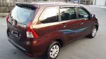 2013 TOYOTA AVANZA  New Face 7 seater MPV