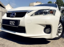 2014 LEXUS CT200H 1.8 H LUXURY (HYBRID) (A) ONE ONWER TIP TOP CONDITION LOW MILEAGE
