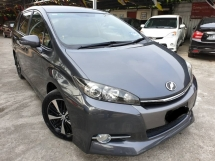 2012 TOYOTA WISH 1.8S PADDLE SHIFT CARBON INTERIOR FULL SPEC