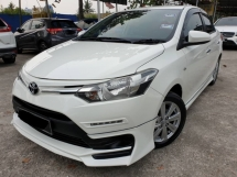 2016 TOYOTA VIOS 1.5 AT TRD G E J BODYKIT REVESRE CAMERA PUSH START BUTTON