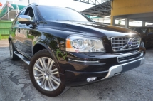 2014 VOLVO XC90 2.5 T5 EXECUTIVE (A) FACELIFT FULL SERVICE RECORD