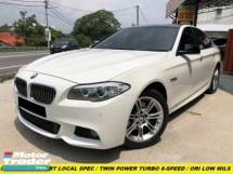 2013 BMW 5 SERIES 528I 2.0 M-SPORTS LOCAL SPEC TWIN TURBO 7 SPEED TIPTRONIC KEYLESS PUSH START
