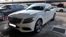 2017 MERCEDES-BENZ C-CLASS C200 CGI-W205 (A) REG MAY 2017, EXCLUSIVE MODEL, ONE LADY OWNER, FULL SERVICE RECORD, LOW MILEAGE DONE 17K KM, UNDER WARRANTY UNTIL MAY 2021, 18