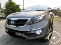 2013 KIA SPORTAGE 2.0 DOHC / 1 OWNER / F-SERVICE KIA / WEEKEND CAR / 65K KM / F-LOAN / PANAROOF