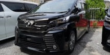 2016 TOYOTA VELLFIRE ZA GOLDEN EYE 2.5CC / ALPHINE TV / READY STOCK NO NEED WAIT / HARI RAYA SPECIAL OFFER