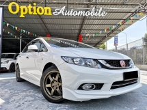 2015 HONDA CIVIC 1.8S (A) FACELIFT F-SERVICE RECORD 1 CAREFUL OWNER
