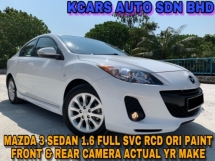 2014 MAZDA 3 SPORT 1.6 SDN FULL SVC RCD ACTUAL YR MAKE F