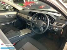 2013 MERCEDES-BENZ E-CLASS E250 Avantgarde back camera precrash electric seat Japan led headlamp unregistered