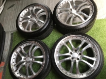 Mercedes Benz brabus sports rims 19 inch staggered  Rims & Tires