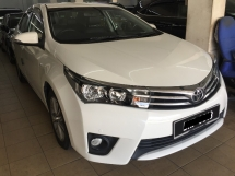 2015 TOYOTA ALTIS 1.8 (A) G 43K KM  Actual Year Make 2015