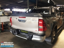 TOYOTA HILUX REVO ROCCO AEROKLAS COVER INTSTALL WITH SPORT BAR