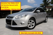 2013 FORD FOCUS 2.0 (A) Titanium Plus (Ori Year Make 2013)(Full Service Record Ford Msia)(Warranty till 2023)