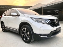 2017 HONDA CR-V 1.5 TC (A) mileage 28km ONLY UNDER WARRANTY HONDA
