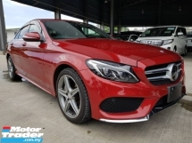 2015 MERCEDES-BENZ C-CLASS C200 AMG HUD PBOOT PRECRASH
