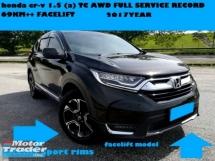 2017 HONDA CR-V 1.5 TC AWD TURBO FULL SERVICE RCCORD 5 YEAR WARRANTY HONDA MALAYSIA