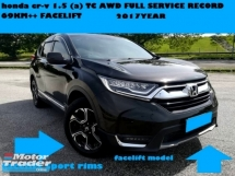 2017 HONDA CR-V 1.5 TC AWD TURBO FULL SERVICE RCCORD 5 YEAR WARRANTY HONDA MALAYSIA