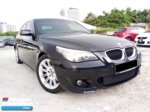 2010 BMW 5 SERIES 520d 2.0  M Sports edition  Good Condition