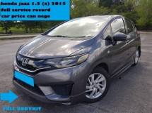 2015 HONDA JAZZ 1.5 E FULL SERVICE RECORD 66KM MILEAGE CAR PRICE CAN NEGO FULL BODYKIT