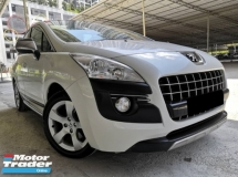 2013 PEUGEOT 3008 Peugeot 3008 1.6(A) TURBO PANORAMIC LOW MILLAGE