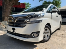 2015 TOYOTA VELLFIRE 2.5 X SPEC 2 POWER DOOR 8 SEATER UNREG 1 YEAR WARRANTY