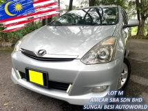 2005 TOYOTA WISH 1.8G (A) FACE LIFT SUNROOF 4 DISC IMPORT BARU