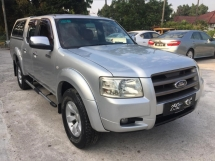 2009 FORD RANGER 2.5 XLT TDCI 4X4 DOUBLE CAB SPECIAL EDTION RED LEATHER SIT