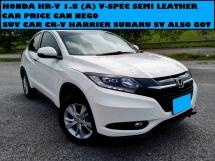 2015 HONDA HR-V 1.8 V SPEC SEMI LEATHER SEAT SUV