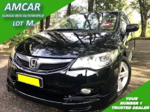 2009 HONDA CIVIC 1.8S (A) FD NEW FACE LIFT MUGEN 1 OWNER