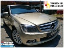 2010 MERCEDES-BENZ C-CLASS 2010 Mercedes Benz C200 K ELEGANCE 1.8 (A) NICE NUMBER 9999 1 OWNER