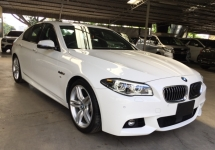 2015 BMW 5 SERIES 535i M SPORT 3.0 TURBO - SUNROOF - FULL - JAPAN - UNREG