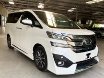 2015 TOYOTA VELLFIRE 3.5 EL EXECUTIVE LOUNGE - BLACK INTERIOR - FULL SPEC