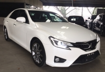 2016 TOYOTA MARK X 2.5 V6 SPORT PACKAGE RECON UNREG