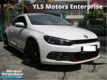 2012 VOLKSWAGEN SCIROCCO 2.0 TSI (A) GT NEW FACELIFT LAST BATCH