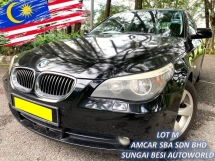 2007 BMW 5 SERIES 523I 2.5 (A) FACELIFT SE 1 OWNER RAYA SALE