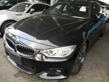 2015 BMW 4 SERIES 420i GRAND COUPE M SPORT UNREG
