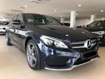 2018 MERCEDES-BENZ C-CLASS C200 2.0 AMG WARRANTY UNTIL 2023