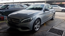 2016 MERCEDES-BENZ C-CLASS C200 CGI (A) REG APRIL 2016, ONE LADY OWNER, FULL SERVICE RECORD, LOW MILEAGE DONE 28K KM, UNDER WARRANTY UNTIL APRIL 2020