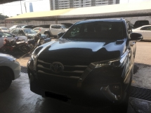 2017 TOYOTA FORTUNER 2.7 SRZ (A) LIKE NEW