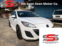 2010 MAZDA 3 1.6 SPORT Sedan FULL(AUTO)2010 Only 1 UNCLE Owner, 86K Mileage, TIPTOP, ACCIDENT-Free, DIRECT-Owner, BODYKIT+AIRBEG& MAZDA SERVICE RECORD