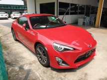 2014 TOYOTA 86 2.0 GT Rear Camera Local AP Unreg
