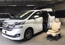 2017 TOYOTA VELLFIRE 3.5 V with Electric Auto Wheel Chair - NEW CR - VERY RARE UNIT