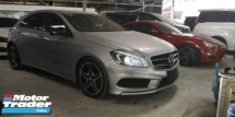 2014 MERCEDES-BENZ A-CLASS A180 AMG SPORT / NIGHT EDITION / MEMORY SEATS / ORIGINAL AMG BODY KITS / READY STOCK NO NEED WAIT