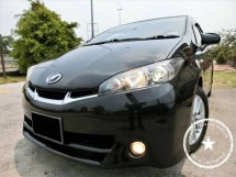2012 TOYOTA WISH 1.8S / 1 OWNER / WEEKEND CAR / F-LOAN / MAX LOAN / 6XK KM / TIPTOP CONDITION