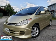 2001 TOYOTA ESTIMA REG 06 3.0 (A) MPV 7 SEATER GOOD CONDITION CLEAN INTERIOR RAYA PROMOTION PRICE.