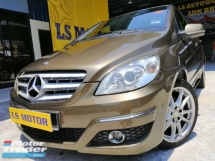 2010 MERCEDES-BENZ B-CLASS B180 AUTO 1.7  -CKD MODEL C&C - 1LADY OWNER - ACC FREE - LEATHER SEAT - CLEAN INTERIOR - WELL MAINTAIN - 4NEW TYRE - SMOOTH ENGINE- RUNNING CONDITION - LOAN AVAILABLE -
