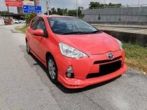 2012 TOYOTA PRIUS C 1.5 Toyota PRIUS C 1.5 TRD SPORTIVO (HYBRID) (A)2013