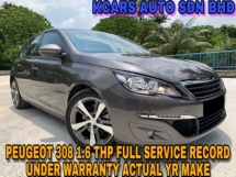 2016 PEUGEOT 308 THP 1.6 ACTUAL YR MAKE UNDER WARRANTY