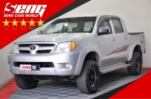 2007 TOYOTA HILUX Double Cab 2.5 (A) TIPTOP CONDITION